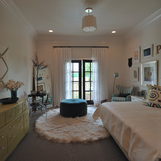 Showhouse Bedroom For Teen Girl Modern Kids Houston on oversized bean bag chairs