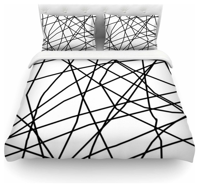 white organic covers c cover sham black suite pbteen and duvet products all
