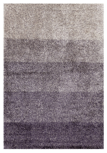 Atlantis contemporary area rug purple contemporary for Purple area rugs contemporary
