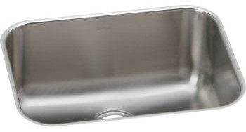 Elkay Eguh211510 Harmony Stainless Steel Single Bowl Undermount Sink.
