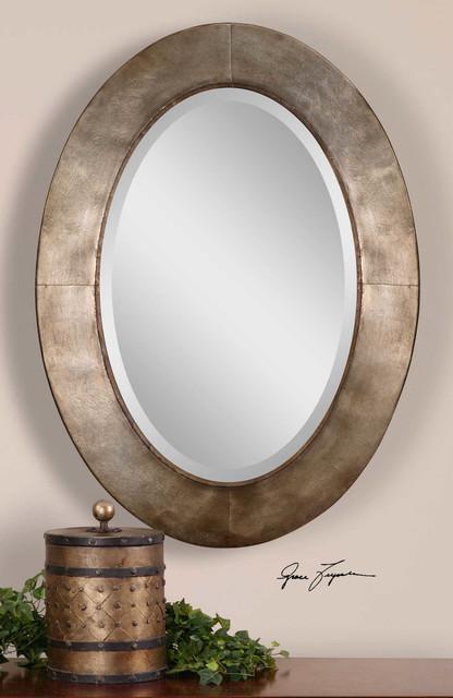 Kayenta Modern Oval Mirror. -1