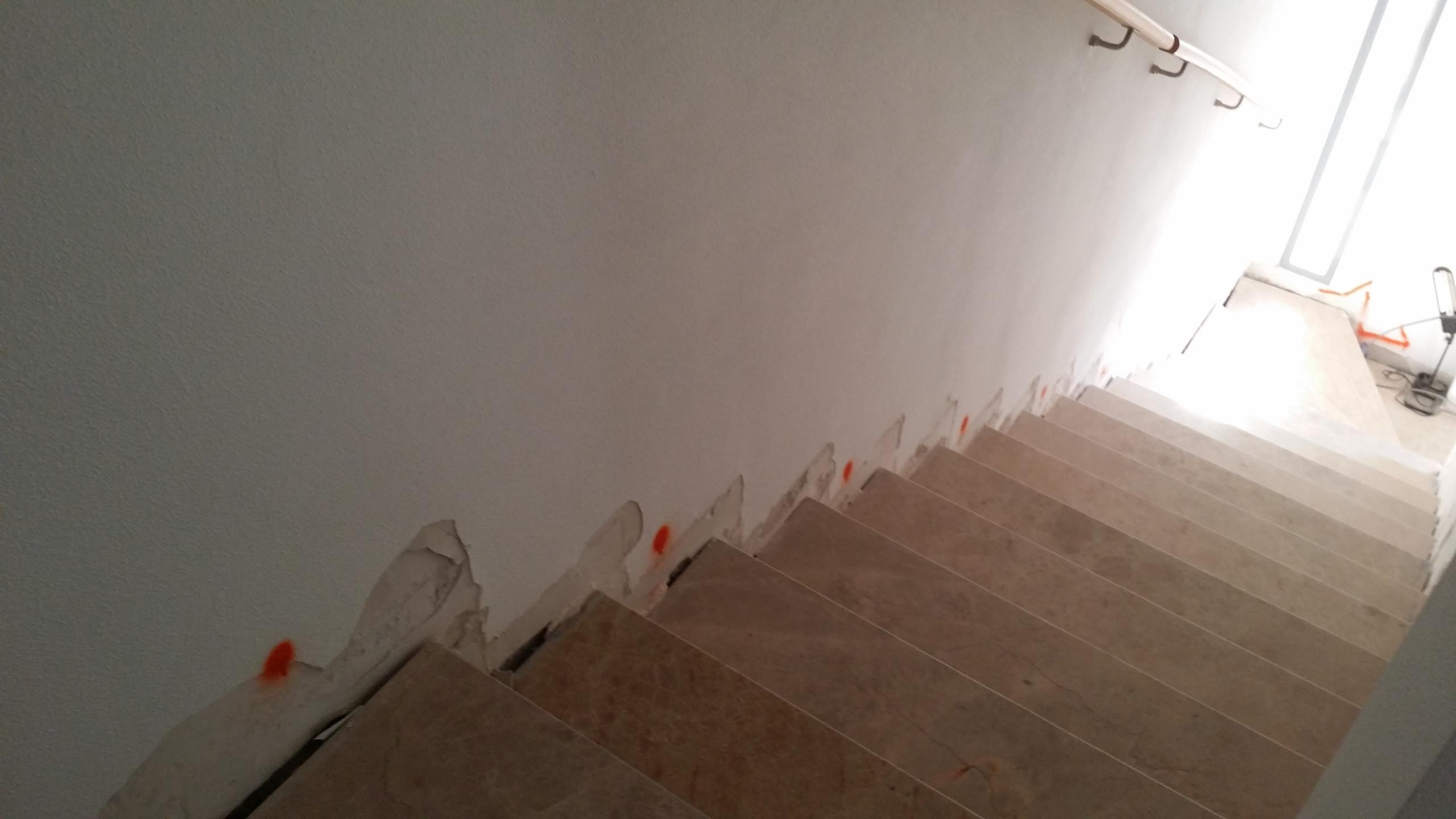 Proceso obra - Escalera
