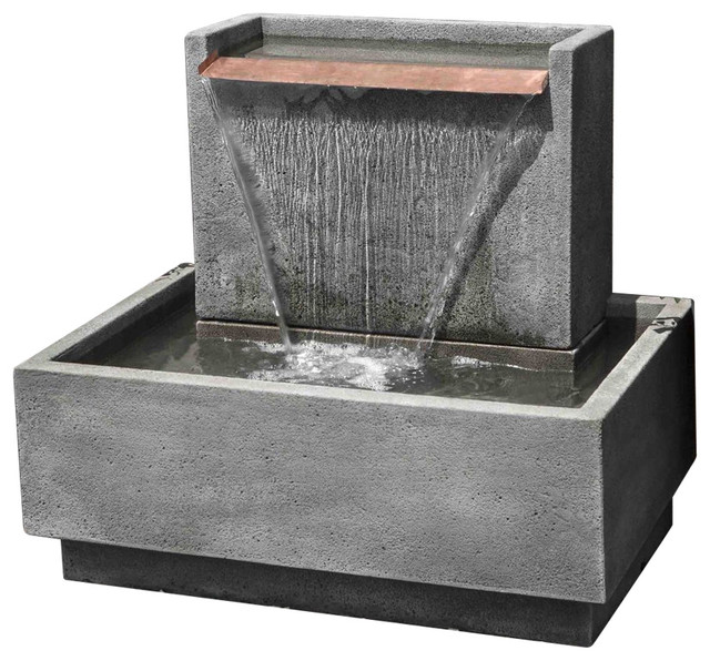 Outdoor Fountains & Ponds