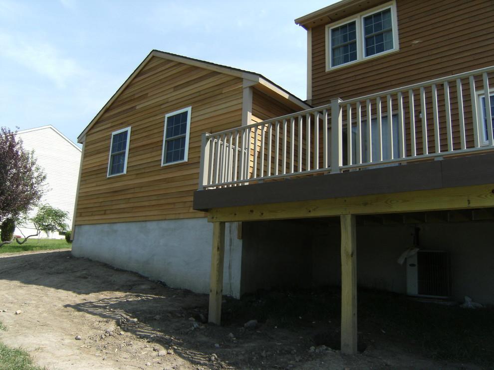 Custom Spare Room & Deck Addition
