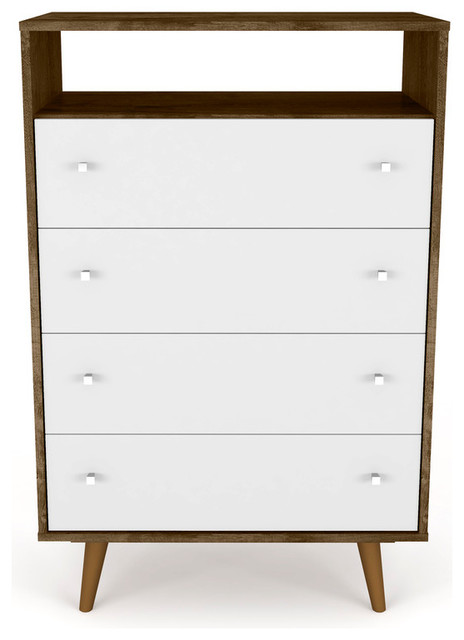 Liberty Dresser, Rustic Brown And White.