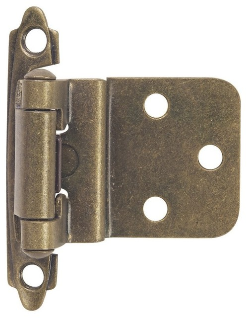 Contractor Pack Inset Cabinet Hinge, Set of 5 - Modern - Hinges - by Hardware House