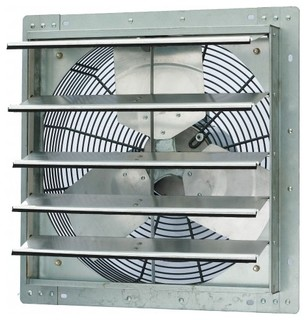 Iliving single speed shutter exhaust fan wall mounted - Commercial exhaust fans for bathrooms ...