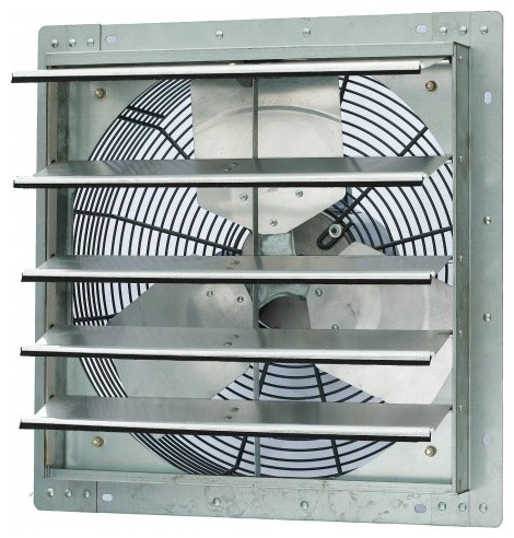 Iliving Usa Iliving Single Speed Shutter Exhaust Fan Wall