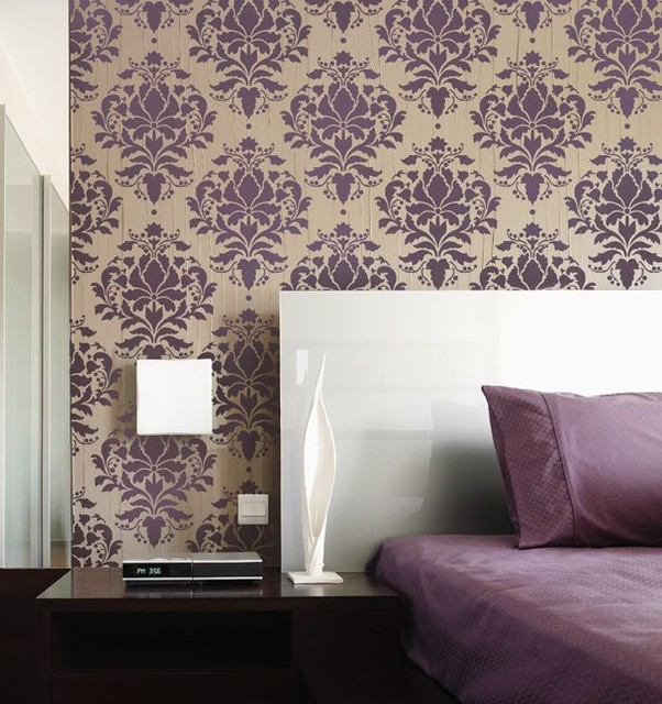 Decorative Wall Stencils home decor wall stencils - modern - new york -janna makaeva