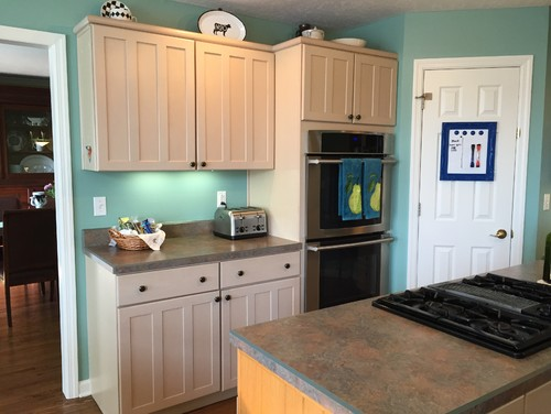 Help color scheme with pickled cabinets for White pickled kitchen cabinets