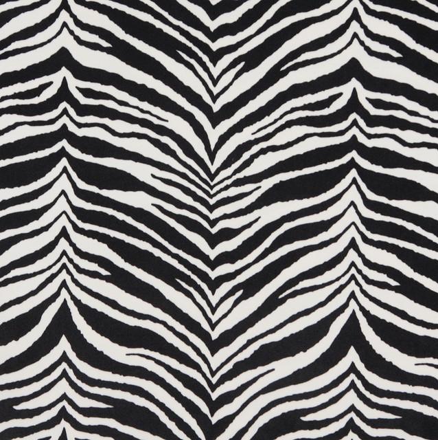 E415 Zebra Animal Print Microfiber Fabric