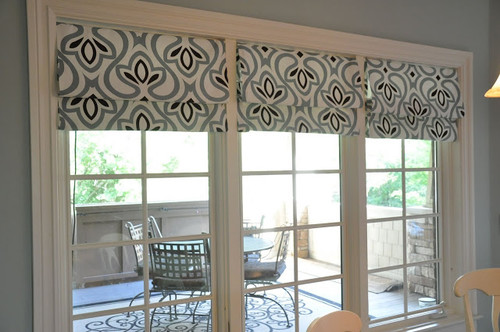 Faux Roman Blinds for Sunroom Indoor Window