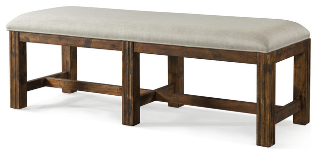 Klaussner Trisha Yearwood Home Carroll Bench, Coffee 920-823.