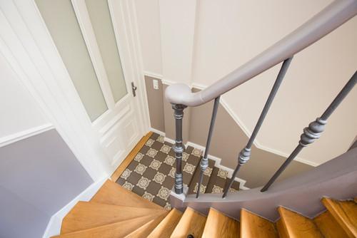 Fabulous Vorher-Nachher: Ein historisches Treppenhaus, behutsam renoviert TW87