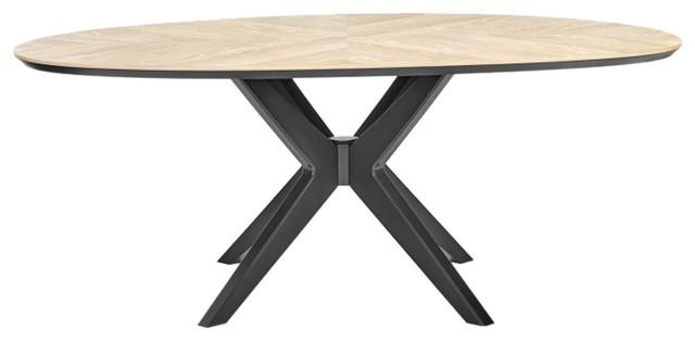 Brunel Elliptical Dining Table