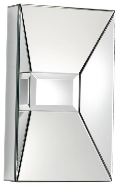 Pentallica Contemporary Decorative Rectangular Mirror.