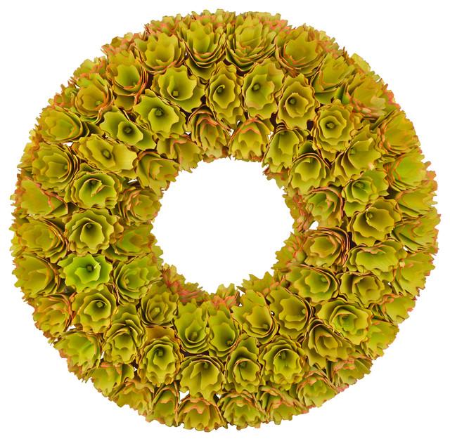 Changing Seasons Woodchip Wreath.