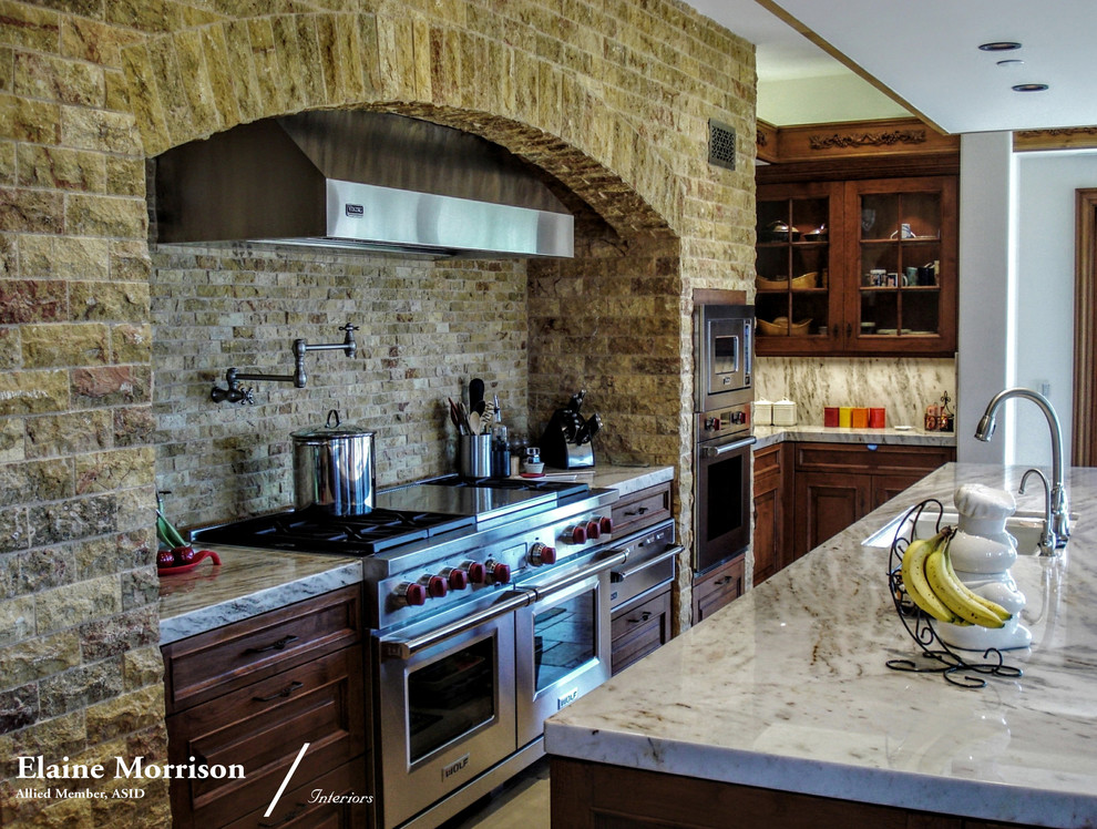 My Traditional Kitchen for a Malibu, California Residence