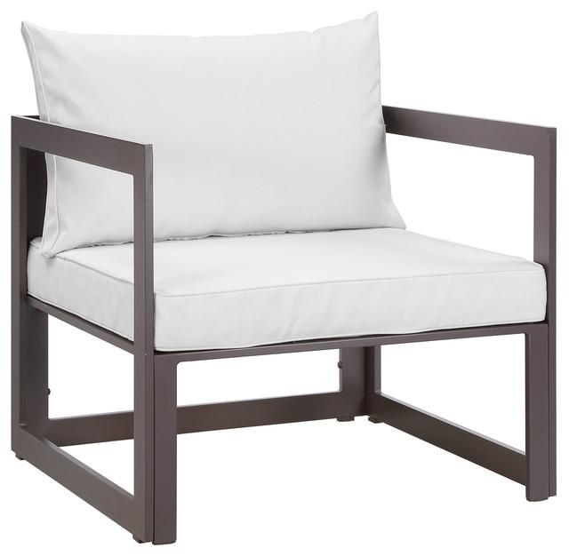 Fortuna Outdoor Aluminum Armchair