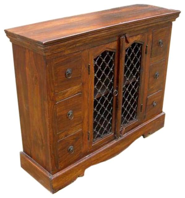Philadelphia Classic Honey Oak 6 Drawer Dining Room Buffet