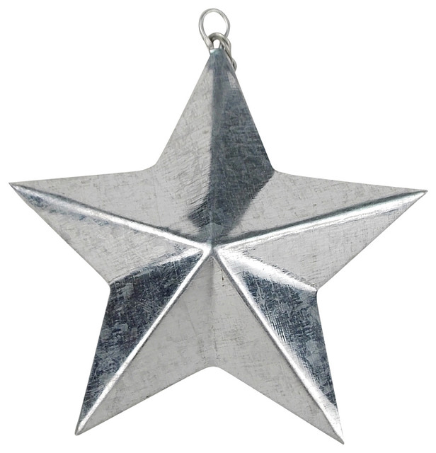 Shop Houzz Craft Outlet Set Of 6 Galvanized Tin Star