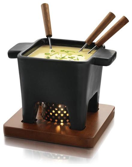 shop houzz boska holland boska holland pro tapas fondue set 400 ml black fondue and. Black Bedroom Furniture Sets. Home Design Ideas