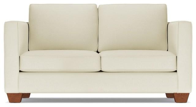 Catalina Apartment Size Sofa, Buckwheat, 58\