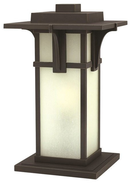 Hinkley Lighting Manhattan Oil Rubbed Bronze Outdoor Post Top / Pier Mount.