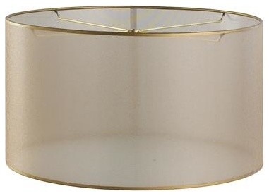 Who makes this shade and where is it available to purchase 15 inch sheer elegance organza drum shade gold more info aloadofball Choice Image
