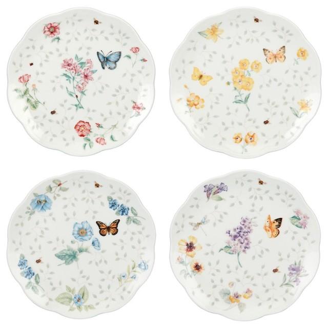 Lenox Lenox Butterfly Meadow Dessert Plates Set Of 4