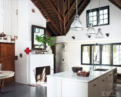 Pictures of Country Kitchens – Inspiring Rustic Country Kitchens from ELLE DEC traditional kitchen
