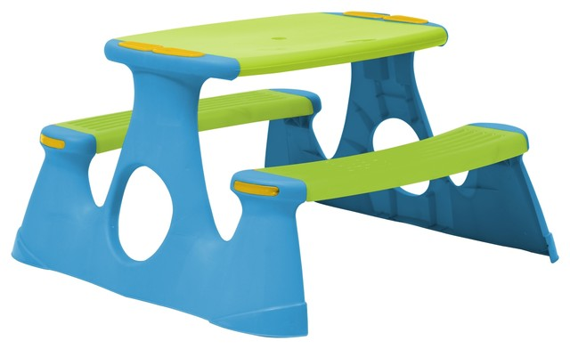 Starplay Kids Picnic Table U0026 Bench Contemporary Kids Tables And Chairs