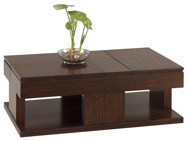 Double Lift Top Table Contemporary Coffee Tables By