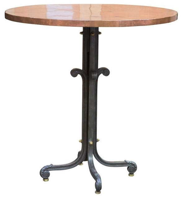 Used Br Top Highboy Table Contemporary Indoor Pub And Bistro Tables By Chairish