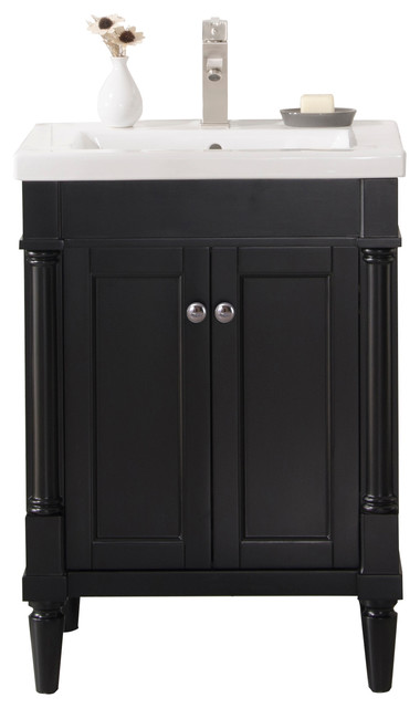 Evarly Single Sink Vanity Traditional Bathroom Vanities And Consoles By Legion Furniture