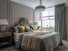Houzz тур: Одна квартира из двух — интерьер в тёплых серых тонах