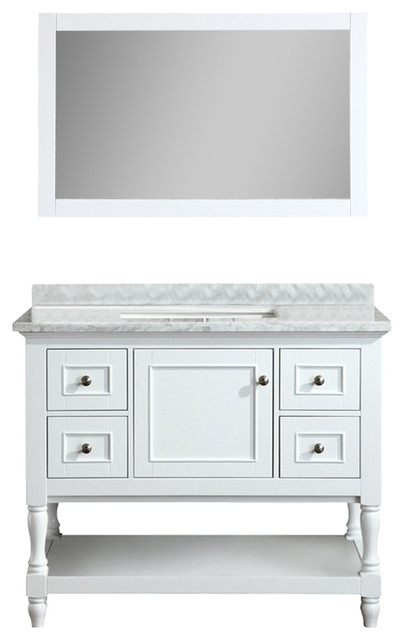 Vintage Traditional Bathroom Vanities And Sink Consoles by Ari Kitchen u Bath