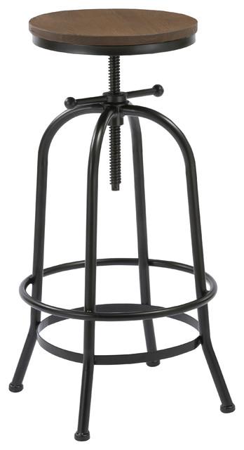 Remarkable James Adjustable Swivel Counter Stool Machost Co Dining Chair Design Ideas Machostcouk
