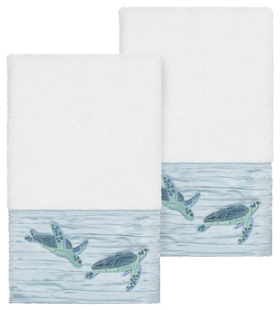Set of 2 ~ SHARK ~ Hand Towels