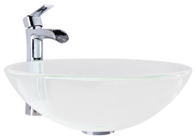 vigo bathroom sinks shop houzz vigo industries vigo crystalline glass vessel 14952