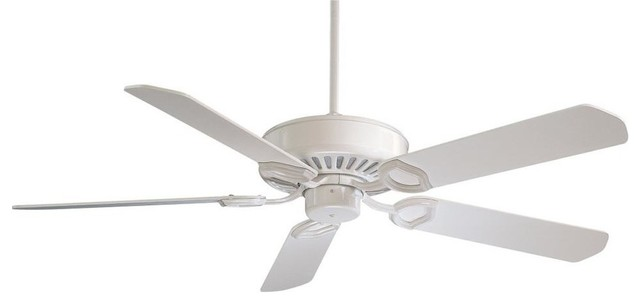 Minka-Aire Ultra-Max White Ceiling Fan.