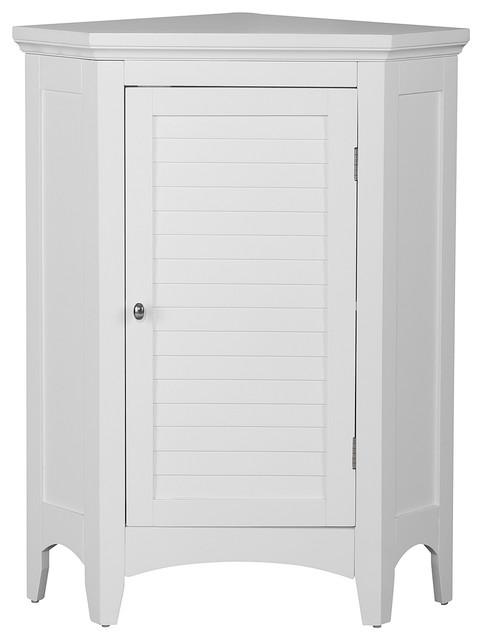 Riverhead Corner Cabinet, White.