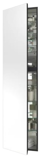 """M Series 19.25""""x8"""" Cabinet, Right, White."""