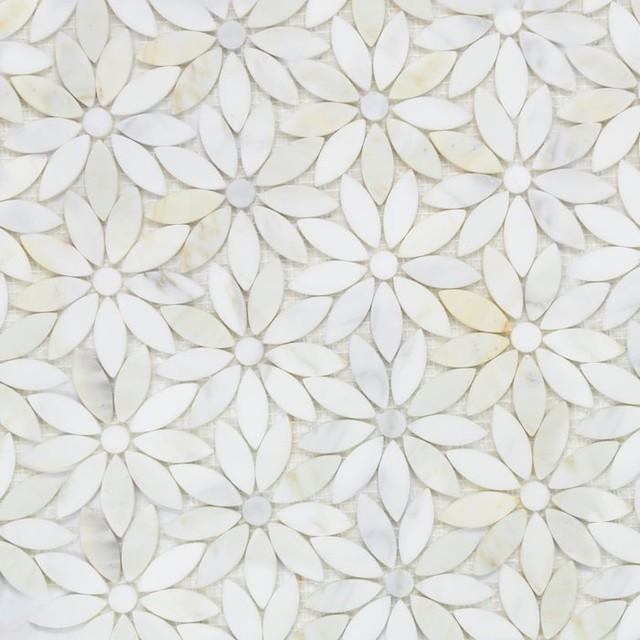 Natural Stone Mosaic Tiles Polished