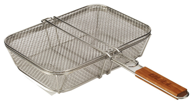 Wire Mesh Shaker Basket With Lid.