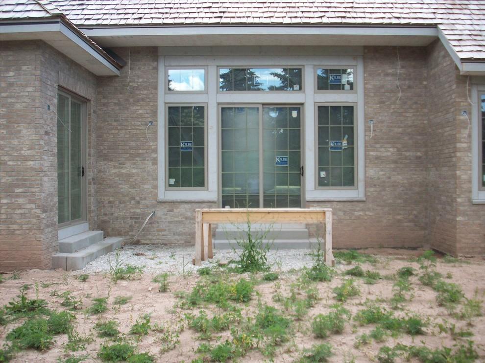 Modern New Home Landscape - Mequon
