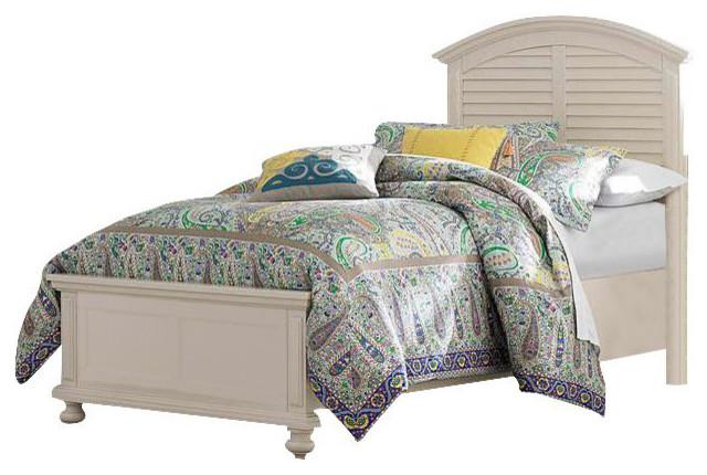 Broyhill Broyhill Seabrooke Twin Panel Bed Cream Furniture Houzz