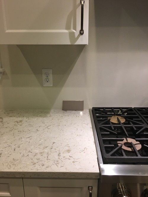 Tile the whole wall? Or stop at cabinets/hood?