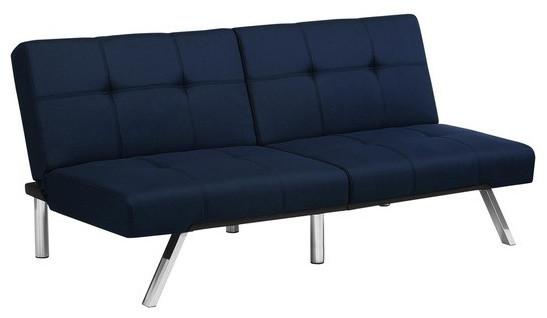 Navy Blue Futon Sofa