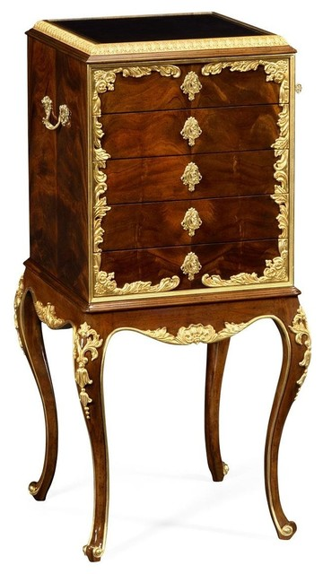 Flatware Cabinet Jonathan Charles Monte   Victorian   Accent Chests And  Cabinets   By EuroLuxHome